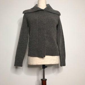 Michael Kors gray zipper sweater